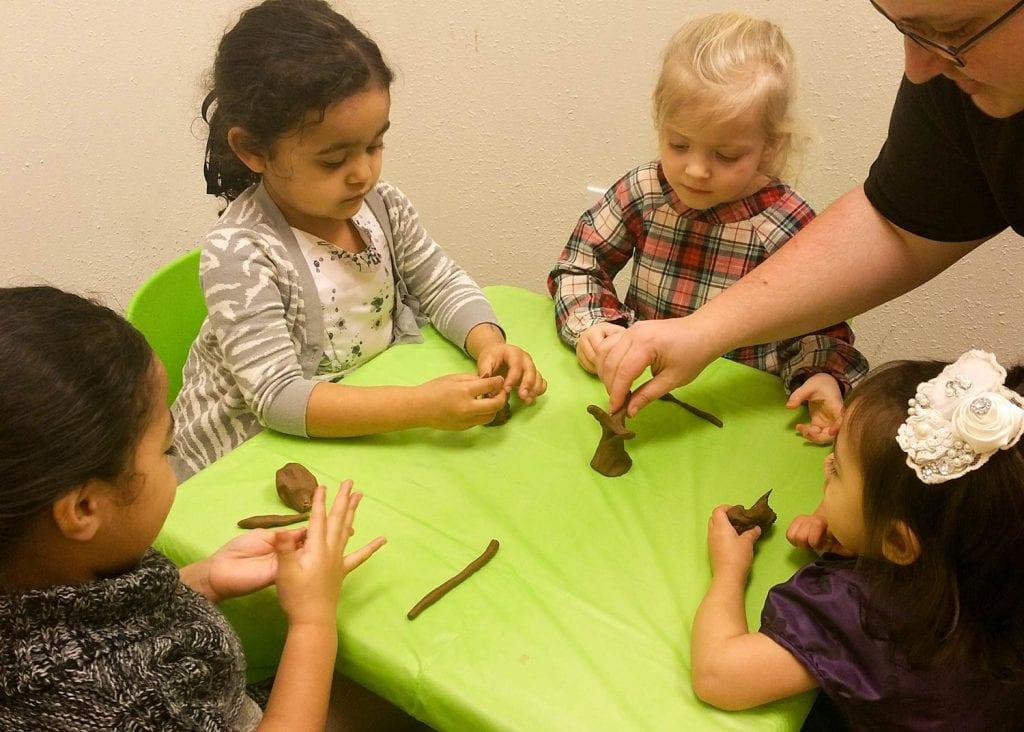 children having fun at church in Lacey Washington
