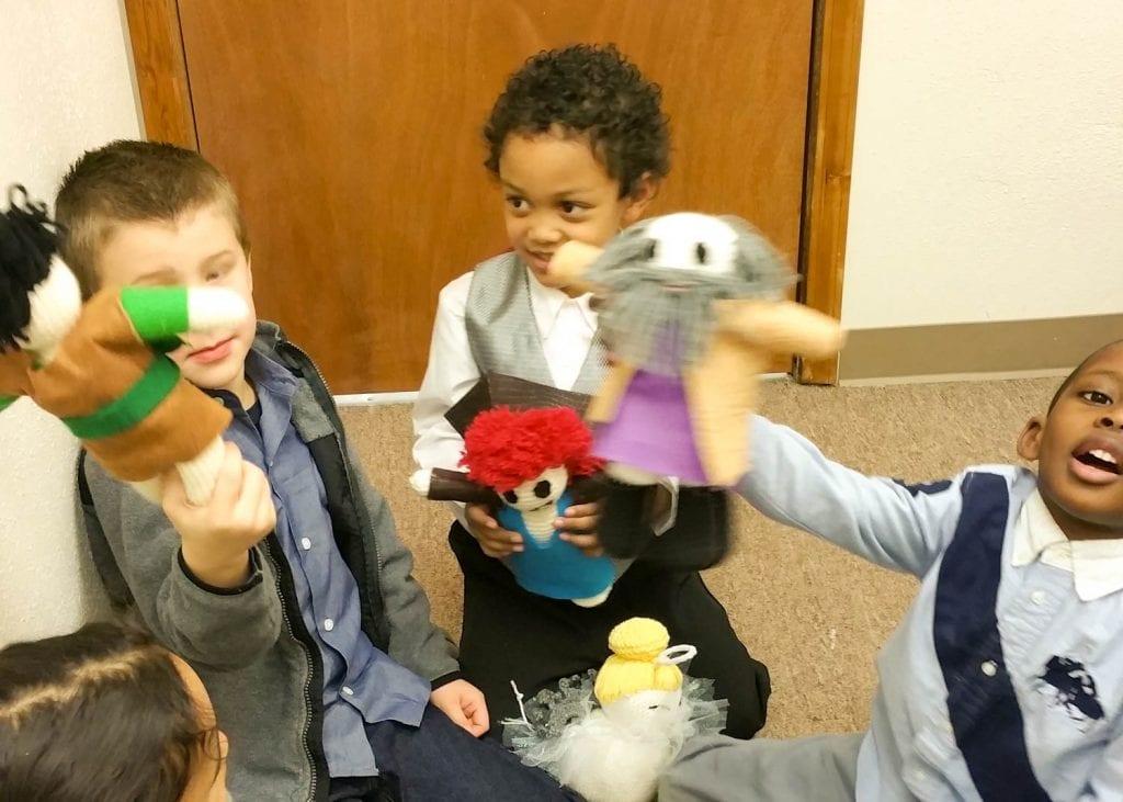 children having fun in class in Lacey Washington